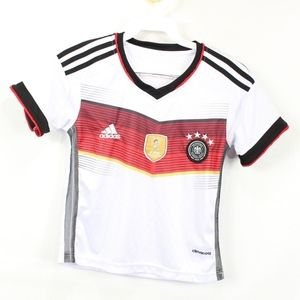 Adidas Youth FIFA 2014 Germany Soccer Jersey White